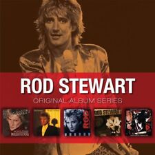 ROD STEWART - 5CD ORIGINAL ALBUM SERIES (NEW & SEALED) Inc Foolish Behaviour
