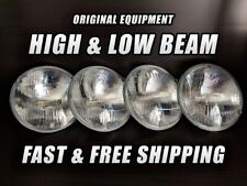 OE Front Halogen Headlight Bulb for Mazda Cosmo 1976-1978 High & Low Beam x4