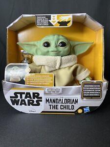 Star Wars Mandalorian The Child Baby Yoda Animatronic Toy Disney Hasbro