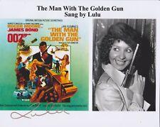 Lulu HAND SIGNED 10x8 Photo Autograph, James Bond The Man With The Golden Gun