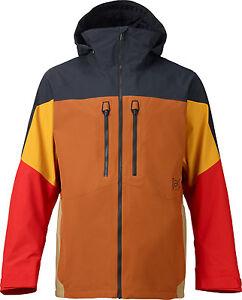 BURTON AK 2L SWASH JACKET Men GORE-TEX NEW Snowboard Blk/Burner/Hazmat/Adobe/Pty
