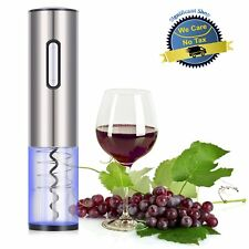 Electric Wine Opener Bottle Corkscrew Cordless Cork Remover Automatic One Button