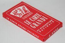 4 Assi - Le Carte Grandi, Piacentine - XL Italian Playing Cards Deck - vgc