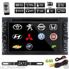 "Universal Double 2Din 6.2"" Car Stereo DVD CD MP3 Player HD Dash Bluetooth Radio"