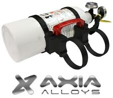 "Axia Alloys Quick Release 2 lb. Fire Extinguisher w/ 1.75"" Mount - Bright Black"