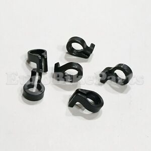 SHIMANO MTB Cycling Bike Brake Gear Cable Hose C Clips Clamp Guide Genuine