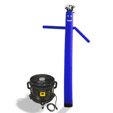 Air Inflatable Sky Puppet Great Dancer- 20 FT Plain Blue With 3/4 HP Blower