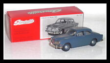 rare whitemetal modelcar Volvo Amazon B18 1961 - bluegrey - scale 1/43