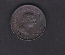 1806 Geo 3rd Farthing in high grade . Australian proclamation coin