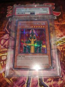 Jinzo PSV-K000 PSA 9 MINT Pharaoh's Servant Secret Rare! Korean! Crazy Pop!!