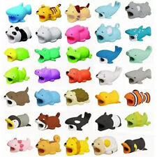 Animal Cable Bite Muncher Chomper for iPhone Charger Cord Protector 36 Styles