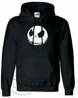 JACK SKELLINGTON NIGHTMARE BEFORE CHRISTMAS FASHION UNISEX PULLOVER HOODIE TOP
