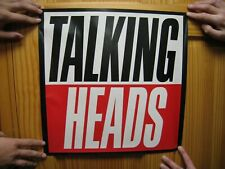 Talking Heads Poster Just The Words
