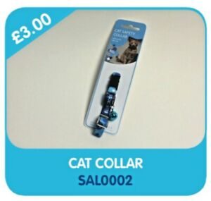 Blue Cross For Pets Cat Safety Collar With Break Free Clip