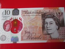 2 x MINT CONDITION 2017 Polymer £10 Ten Pound Notes Consecutive S/No's         g