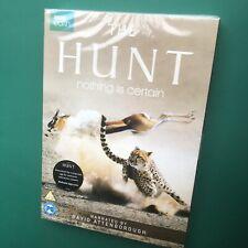 THE HUNT BBC Documentary 3-Disc DVD Boxset David Attenborough Cheetah Polar Bear