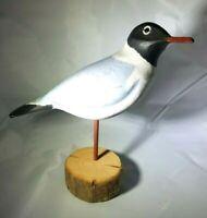 Laughing Gull Wood Decoy by Jane Logan Kearney Decoy Carver 1983