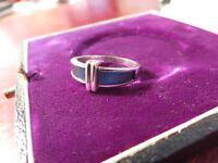 Hübscher 925 Silber Ring K&L Koders & Lichtenfels Pforzheim Metallic Designer
