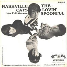 LOVIN' SPOONFULL--PICTURE SLEEVE ONLY--(NASHVILLE CATS)--PS--PIC--SLV