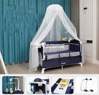 Newborn Multifunctional Crib Stitching Large Bed Cradle Game Folding Travel DHL