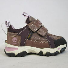 Timberland Leather Baby Trainers with Hook & Loop Fasteners