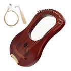 GECKO GK  15M Portable Harp 15 String Maple Wooden Tuning Hammer Free Shipping