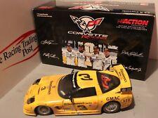 2001 Dale Earnhardt/Dale Jr./Collins/Pilgrim Rolex Corvette 1/18 Action Diecast