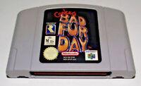 Conker's Bad Fur Day Nintendo 64 N64 PAL Conkers