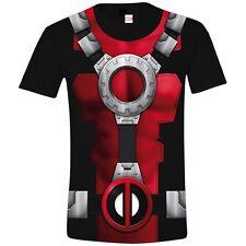 Deadpool Costume Black (Unisex Taille / Size L) TIMECITY