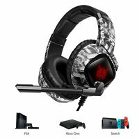 ONIKUMA K19 Gaming Headset MIC Headphone for PC Laptop PS4 Slim Pro Xbox One S X
