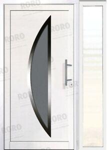 2 Flügel Kunststoff Tür Haustür Doppeltür 140,150 oder 160 x 210 cm