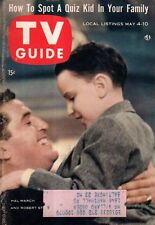 1957 TV Guide May 4 - Andy Devine - Kingman AZ; Julie London; Bette Davis; Fargo