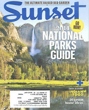Sunset Magazine March 2014 National Parks Guide Yosemite Indian Food