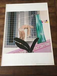 David Hockney: Man in Shower in Beverly Hills Extracted From The Bigger Book