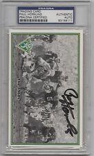 PAUL HORNUNG - Autograph Green Bay Champions Card - PSA/DNA