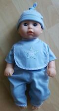 """My First Baby Annabell Brother Doll (blue) 14"""""""