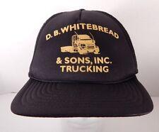 D.B. Whitebread & Sons, Inc Trucking Truckers Hat