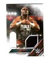 WWE D-Von Dudley 2016 Topps Event Used Shirt Relic Card SN 112 of 299