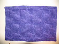 LAVENDER Scented WEIGHTED LAP PAD Purple Vine Sensory Autism Mini Blanket