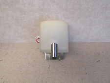 RV Luminaire 12V Reading Light Fixture - Frosted Lamp Shade - On/off Switch