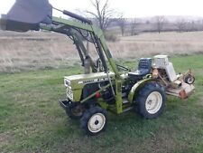 "New listing Yanmar Ym155D tractor loader 4x4 15 hp diesel gear Woods 48"" finish mower used"