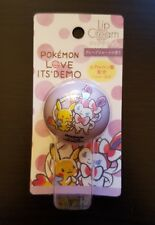 ITS'DEMO LOVE Pokemon center grapefruit lip cream balm eevee Pikachu Sylveon NEW