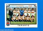CALCIATORI PANINI 1982-83 - Figurina-Sticker n. 553 - SQUADRA TARANTO -Rec