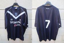 VINTAGE Maillot GIRONDINS de BORDEAUX porté n°7 ADIDAS match worn shirt XL