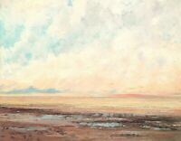 Gustave Courbet Marine Seascape Painting Giclee Print on Canvas Decor Small 8x10