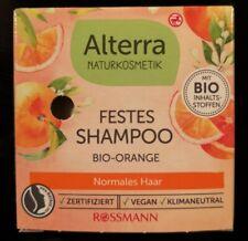 NEU! Alterra Naturkosmetik - Festes Shampoo Bio-Orange