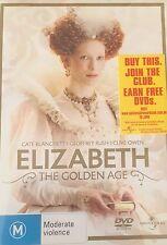 Elizabeth The Golden Age Cate Blanchett Region 4 DVD VGC