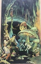 FRANK FRAZETTA The Secret People FANTASY Litho PRINT 15 X 23 Vintage Prints #114