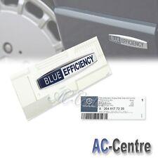BLUE EFFICIENCY OEM GENUINE SIDE FENDER EMBLEM BADGE for ALL MERCEDES BENZ AMG