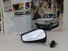 FIAT 126 SILVER DEL79 - RETROVISORE SX MONTAGGIO SPORTELLO ORIGINALE DELL'EPOCA